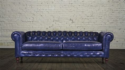 Leather Chesterfield Sleeper Sofa by This Is A Sapphire Leather Chesterfield Sleeper Sofa