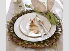 Fab Find! Pottery Barn's Easter Bunny Tableware Sharon