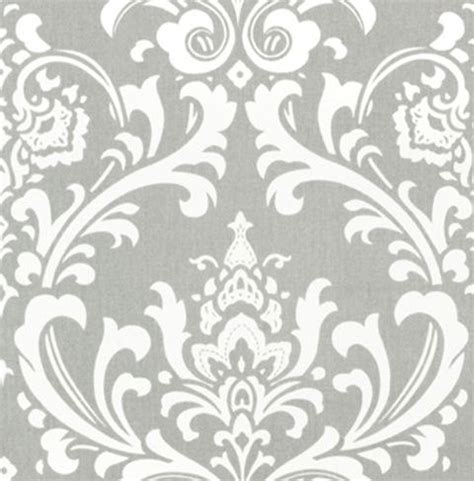 gray curtain panels damask curtains drapery by