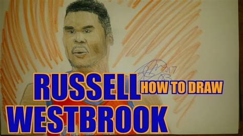 Drawing Russell Westbrook Thunder Youtube