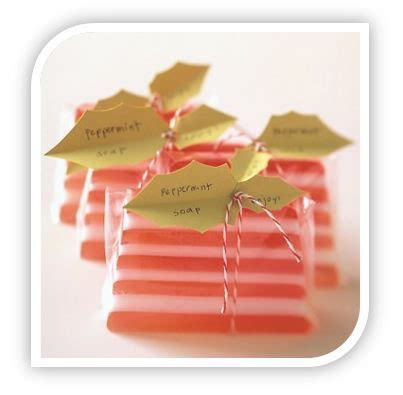 christmas gifts for guests gift ideas peppermint soap for stuffers and guests