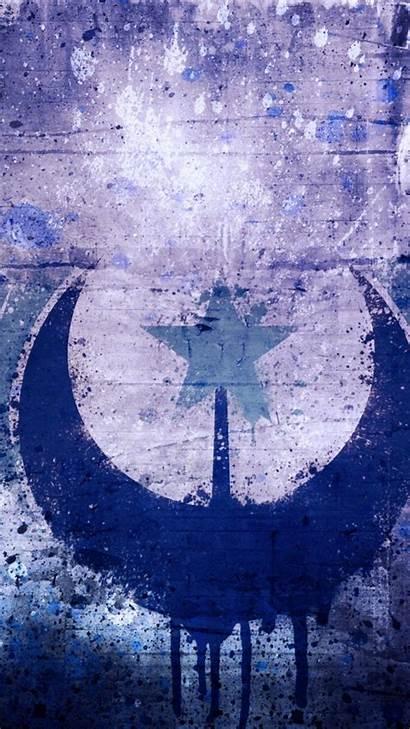 Republic Lunar Grunge Digital Wallpapers Mobile