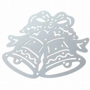 Christmas Bell Metal Die Cutting Stencil Template DIY ...