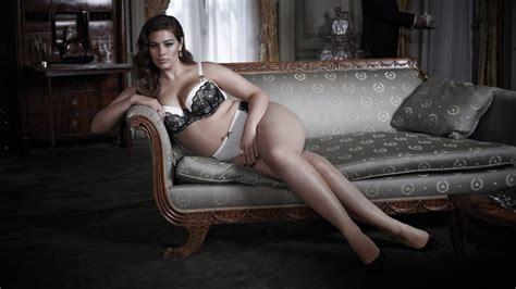 women buy  lingerie  modeled  curvy brunettes