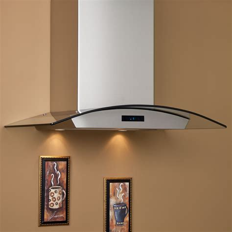 "30"" Compass Series Stainless Steel Wall Mount Range Hood"