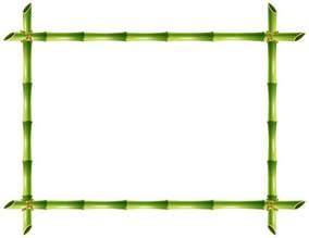 Frame Bamboo Border Clip Art