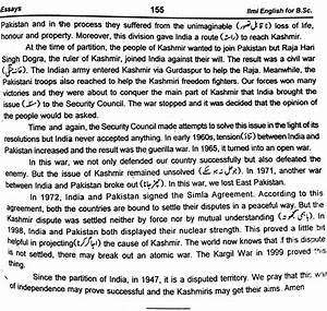 Kashmir Issue Essay Inspirational College Essays Kashmir Problem  Kashmir Issue Essay Css Forum  Essay On High School Experience also Sample Business Essay  Essay Thesis