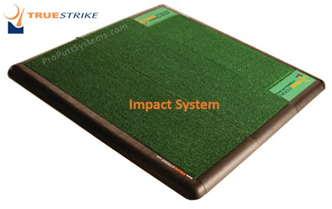 golf hitting mats true strike impact model golf hitting mats