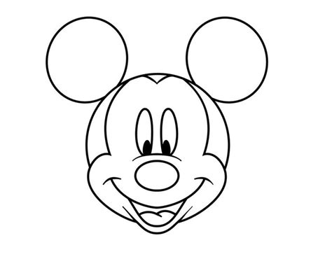 drawn mickey mouse pencil   color drawn mickey mouse