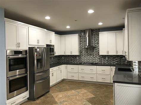 white kitchen cabinets pictures completed kitchens by home solutions remodeling 1360