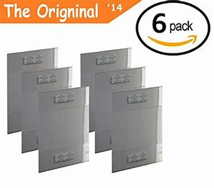 T'z Tagz The Original 6 Pack of Wall Mount 8.5 X 11 or 11 ...