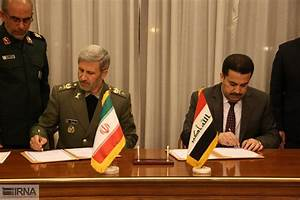 Iran Defense Minister meets with top Iraqi officials in ...