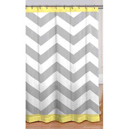 chevron curtains walmart mainstays chevron shower curtain yellow walmart
