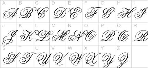 cursive capital letters cursive letters letters font 26554