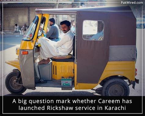 A Big Question Mark Whether Careem Has Launched Rickshaw