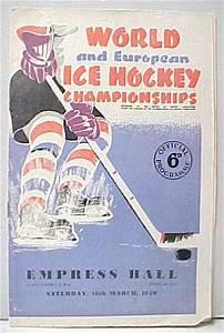 1950 World Ice Hockey Championships | International Hockey ...