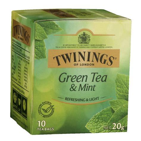 tea mint twinings bags pack officeworks