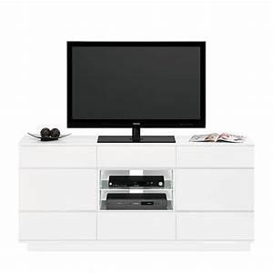 Tv Rack Weiß : tv rack cuuba ml 316 4 led hochglanz wei ~ Whattoseeinmadrid.com Haus und Dekorationen