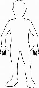 human body outline printable blank person template free With a body diagram