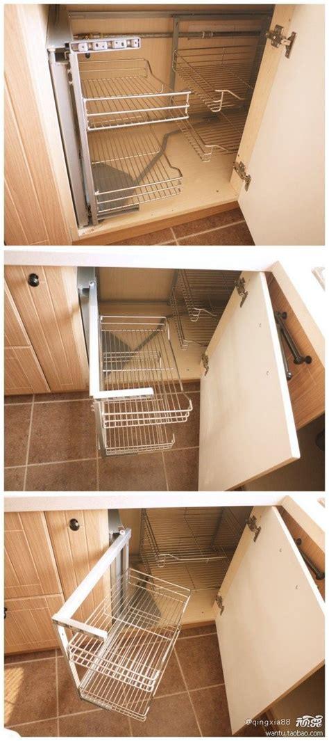 organizing deep corner kitchen cabinets  homemakers