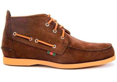 Boat Shoes In The Fall by Haute Sailing Shoes Gucci Boat Shoe Mid Fall Winter 2010