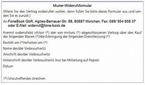 Widerruf Muster Email : fonebook gbr muster widerrufsformular ~ A.2002-acura-tl-radio.info Haus und Dekorationen