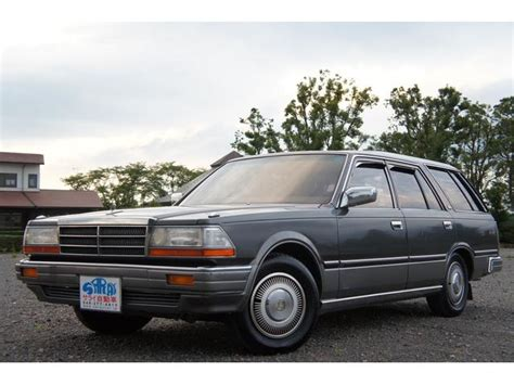 nissan gloria wagon nissan gloria wagon v20e sgl 1994 gray m 79 920 km details japanese used cars goo net