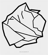 Crumpled Paper Clipart Draw Coloring Papel Easy Line Drawing Arrugado Colorear Disegni Colorare Clip Piece Toilet Dibujo Transparent Pinclipart Picado sketch template