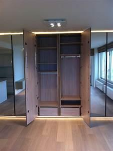 Chambre Dressing : placard dressing chambre great modele de placard entree ~ Voncanada.com Idées de Décoration