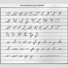 Cursive Handwriting  Hints And Echoes