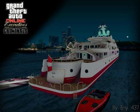 Yacht Gta Online by Gta San Andreas Gta V Yacht Mod Gtainside