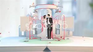Wedding Animation 4 Cartoon Style