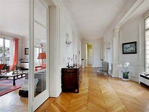 appartement haussmanien parquet en points de hongrie With parquet haussmannien