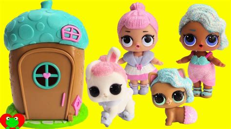 lol surprise pets transform  lol dolls  woodzeez