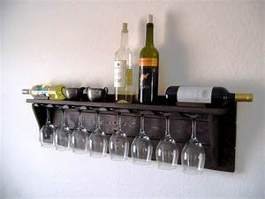 unique idea of pallet wood wine rack in dark espresso With kitchen colors with white cabinets with wine stave candle holder