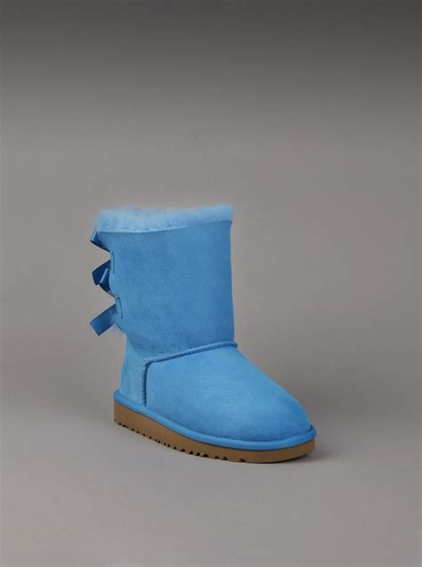 light blue uggs with bows sky blue uggs