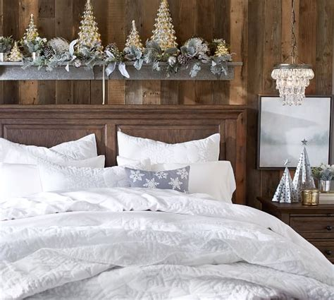 Pottery Barn Coverlets by Karly Snowflake Coverlet Pottery Barn
