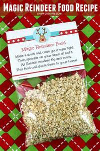 glitter cake topper magic reindeer food recipe and printable oh my creative