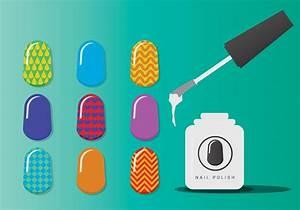 Manicure Nail Vectors - Download Free Vector Art, Stock ...