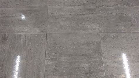 Shiny grey floor tiles   Homes Floor Plans