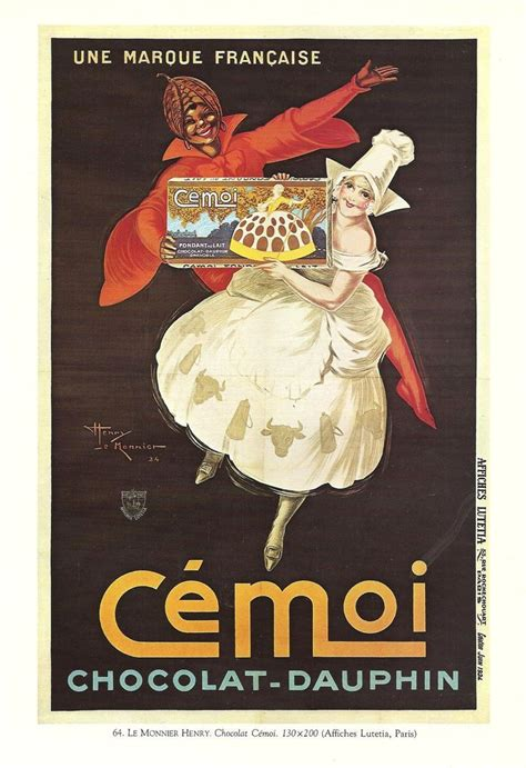 affiche cuisine vintage 1930s advertisements vintage food chocolate
