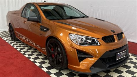 This example with 19 kilometres on the odometer is. This HSV GTSR W1 Maloo could be a million-dollar ute ...