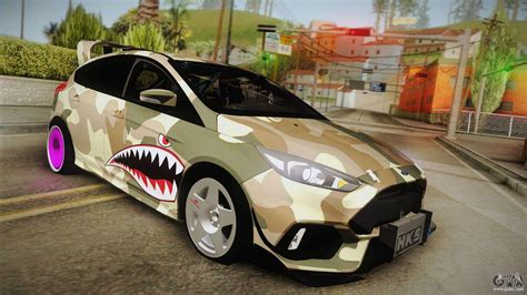 Drift Ford Focus by Ford Focus Rs 2017 4x4 Drift For Gta San Andreas