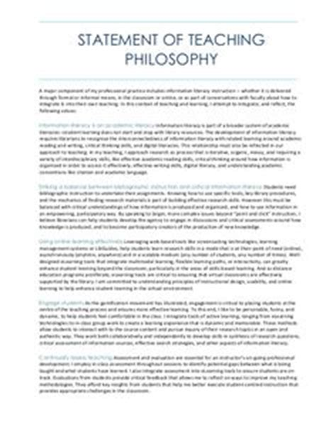 my philosophy of teaching statement this early 801 | b515537dea61638514f2e26cab3160a7