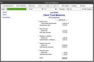 Pay Sheet Template Quickbooks For Firms Trust Transactions Accountex Report