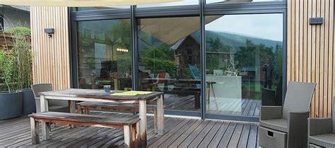 baie coulissante 3 vantaux baie coulissante 3 vantaux pvc bois alu portes terrasse