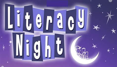 Image result for literacy night