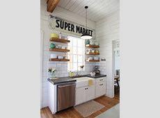 Splashy kitchen countertop choices in Kitchen Farmhouse