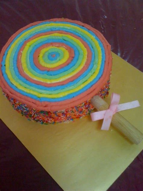 sweet cravings lollipop cake