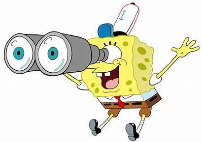 Binoculars Spongebob Clipart Eye Transparent Deviantart Webstockreview